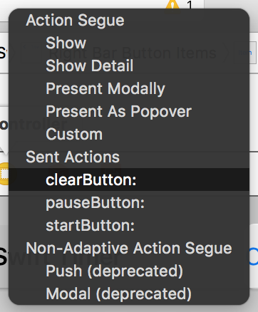 swift timer select elements link
